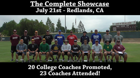 College Baseball Tryout Camps | The Complete Showcase